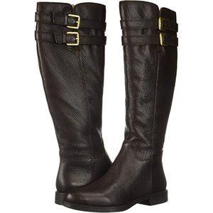 Franco Sarto Christoff Equestrian Boot Wide Calf 6